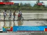 BP: Tulay na daan papunta sa 4 na barangay sa Dingras, Ilocos Norte, sinira ng baha