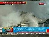 BP: Ilang bahagi ng pagawaan ng mantika sa Iligan City, nasusunog pa rin