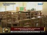 24 Oras: Ilang eskwelahan sa bansa, kulang pa rin sa classroom at upuan