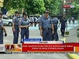BT: Mga pulis, naka-deploy sa paligid mga eskwelahan ngayong unang araw ng pasukan