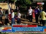 NTG: DepEd Sec. Luistro, pangungunahan ang pagbubukas ng klase sa isang barangay sa Culion, Palawan