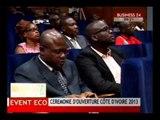 Business 24 Event Eco  Ceremonie d'pouverture de Cote d'Ivoire 2013
