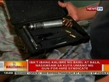 BT: Iba't ibang kalibre ng baril at bala, nasamsam sa kuta ng gun-for-hire syndicate sa Payatas, QC