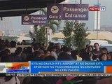 Kita ng Davao Int'l Airport at ng Davao City, apektado ng paghambalang ng eroplano ng Cebu Pacific