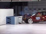 2000 Lincoln LS moderate overlap IIHS crash test