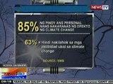 NTG: 85% ng Pinoy ang personal nang nakaranas ng epekto ng climate change