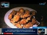 Saksi: Midnight Snack: Battered Chicken at Lechon con Tokwa sa old Chinese restaurant sa Caloocan