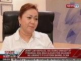 SONA: Napoles, isa-isang sinagot at itinanggi ang mga alegasyon kaugnay ng umano'y pork barrel scam