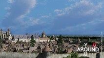 Bourges au 15 ème siècle - Une reconstitution en 3D