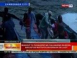 BT: Mahigit 70 pasahero ng 2 bangka sa Zamboanga, nailigtas nang masiraan sa laot