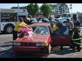 Accident de voiture mortel en direct - Caméra de surveillance [Sécurité] partie 21