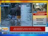 UB: Mga residente sa Malabon, kanya-kanyang diskarte para makagalaw nang maayos kahit baha