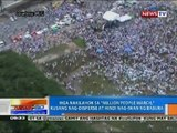 Mga nakilahok sa 'Million People March,' kusang nag-disperse at hindi nag-iwan ng basura