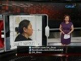 24 Oras: #24Oras: Payag ka ba kung gagawing state witness si Janet Napoles?