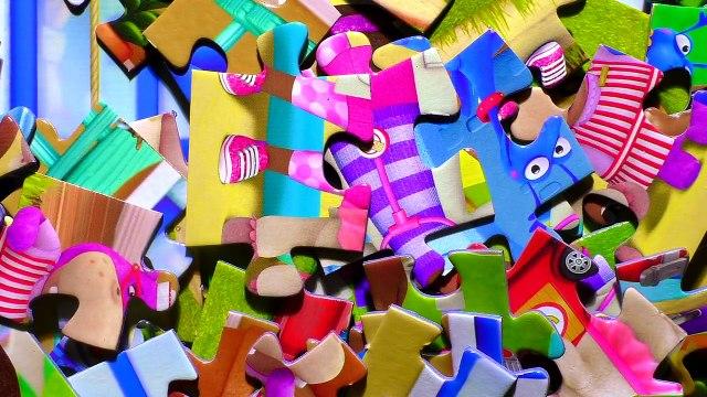 Puzzle Games Doc McStuffins Disney Rompecabezas Hallie Lambie Chilly Stuffy Jigsaw Puzzles Kids Toys