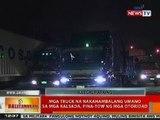 BT: Mga truck na nakahambalang umano sa mga kalsada sa Maynila, pina-tow ng mga otoridad