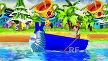Row Row Row Your Boat Nursery Rhyme with Lyrics | New HD Rhyme Songs for Babies