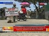 BT: Mga posibleng daanan ng mga rebelde sa Zamboanga, bantay-sarado ng mga otoridad