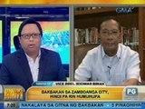 UH: Talakayan with Igan: Panayam kay VP Binay kaugnay sa napurnadang ceasefire sa Zamboanga City
