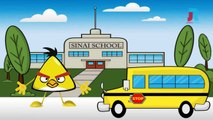 Wheels Of The Bus Go Round And Round Animation Nursery Rhyme With Lyrics for Children