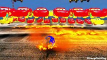 Lightning McQueen Cars Blue Spiderman Cars 2 Nursery Rhymes McQueen (Songs for Children with Action)