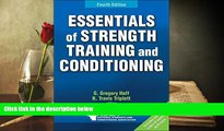 Read Online  Essentials of Strength Training and Conditioning 4th Edition With Web Resource Trial
