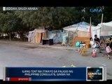 Saksi: Ilang tent sa paligid ng PHL Consulate sa Jeddah, Saudi Arabia, giniba na