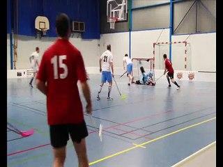 Vidéo des buts lors de l'entrainement filmé