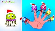 Finger Family Rhymes (JellyFish Finger Family) Nursery Rhymes | Top English Nursery Rhymes Songs