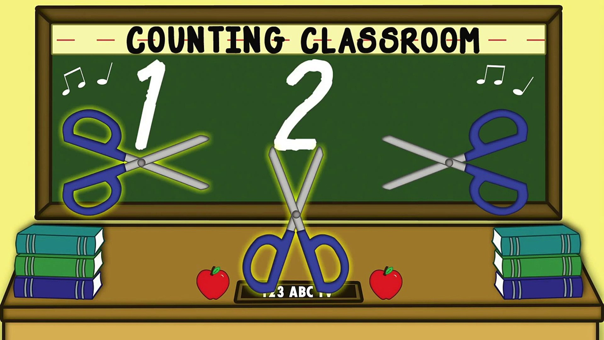 Counting Classroom - Counting to 5 - Learning to Count - Fun Kids Songs Preschool