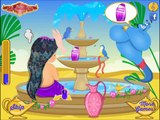 Baby Jasmine Genie Spa Makeover Game Movie-New Baby Games-Fairy Tale Games