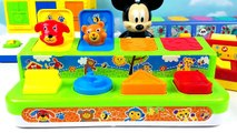 4 Pop-Up Toys Learn Wild Zoo Farm Animals Names Colors Numbers with Mickey Mouse Elmo Sesame Street