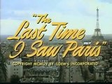 The Last Time I Saw Paris Trailer