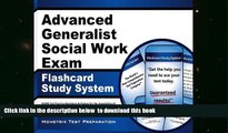 PDF [FREE] DOWNLOAD  Advanced Generalist Social Work Exam Flashcard Study System: ASWB Test