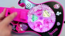 Pretty Rhythm Rainbow Live jewelry Guitar Tayo Learn Numbers Colors Toy Surprise YouTube