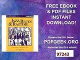 Jazz, Blues & Ragtime Beliebte Jazz-Bearbeitungen für Violine. Violine und Klavier (2 Violinen, Violine und Gitarre...