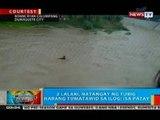 BP: 2 lalaki sa Dumaguete, natangay ng tubig habang tumatawid sa ilog