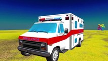 Ambulance Cartoons For Children | Ambulance Toy Construction | Ambulance Trucks for Kids