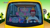 Elephant Wheels On The Bus Nursery Rhyme Wheels On The Bus Rhyme for Children Elephant Bus Song