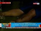 BP: Tripulanteng nang-hostage sa barko sa Cebu, patay nang barilin ng pulis