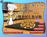 Trò chơi cho bé, Sara trò chơi nấu ăn bánh Baklava, Blackforest trò chơi trực tuyến