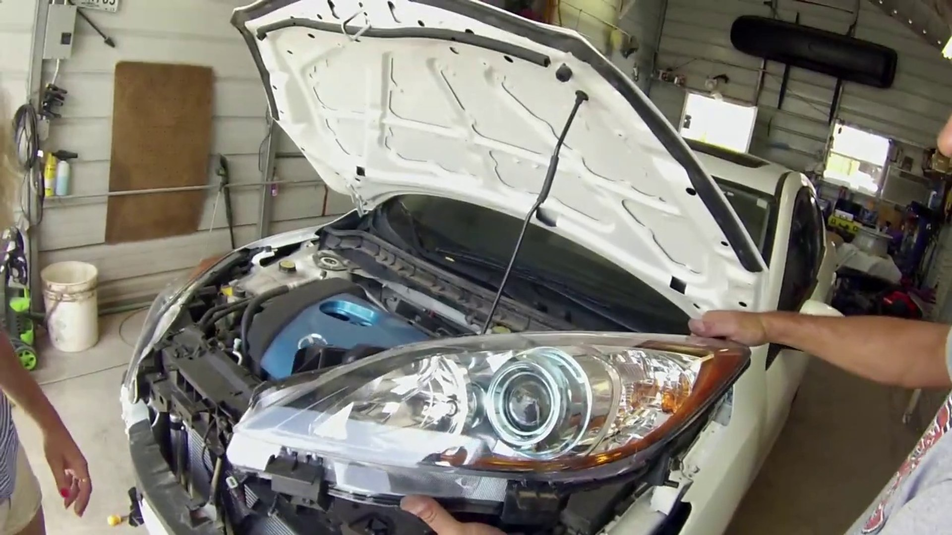 Mazda 3 Headlight Removal And Replacement 2010 2011 2012 2013 Video Dailymotion