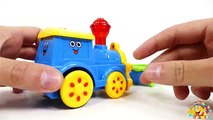 VIDEO FOR CHILDREN TRAINS: Crazy Trains. Crash at Railway .Toys for KIDS
