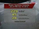 NTVL: NDRRMC: Mahigit 200 na ang patay dahil sa pananalasa ng Bagyong Yolanda