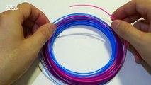 Я ПОКАЗАЛ ЛИЦО - 3D РУЧКА - РИСУЮ ШЛЁПКИ И ОЧКИ - 3D Pen make plastic