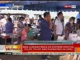 BT: Mga lumikas mula sa Eastern Visayas, tuloy-tuloy ang pagdating sa Cebu