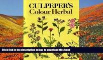 PDF  Culpeper s Colour Herbal Nicholas Culpeper For Kindle