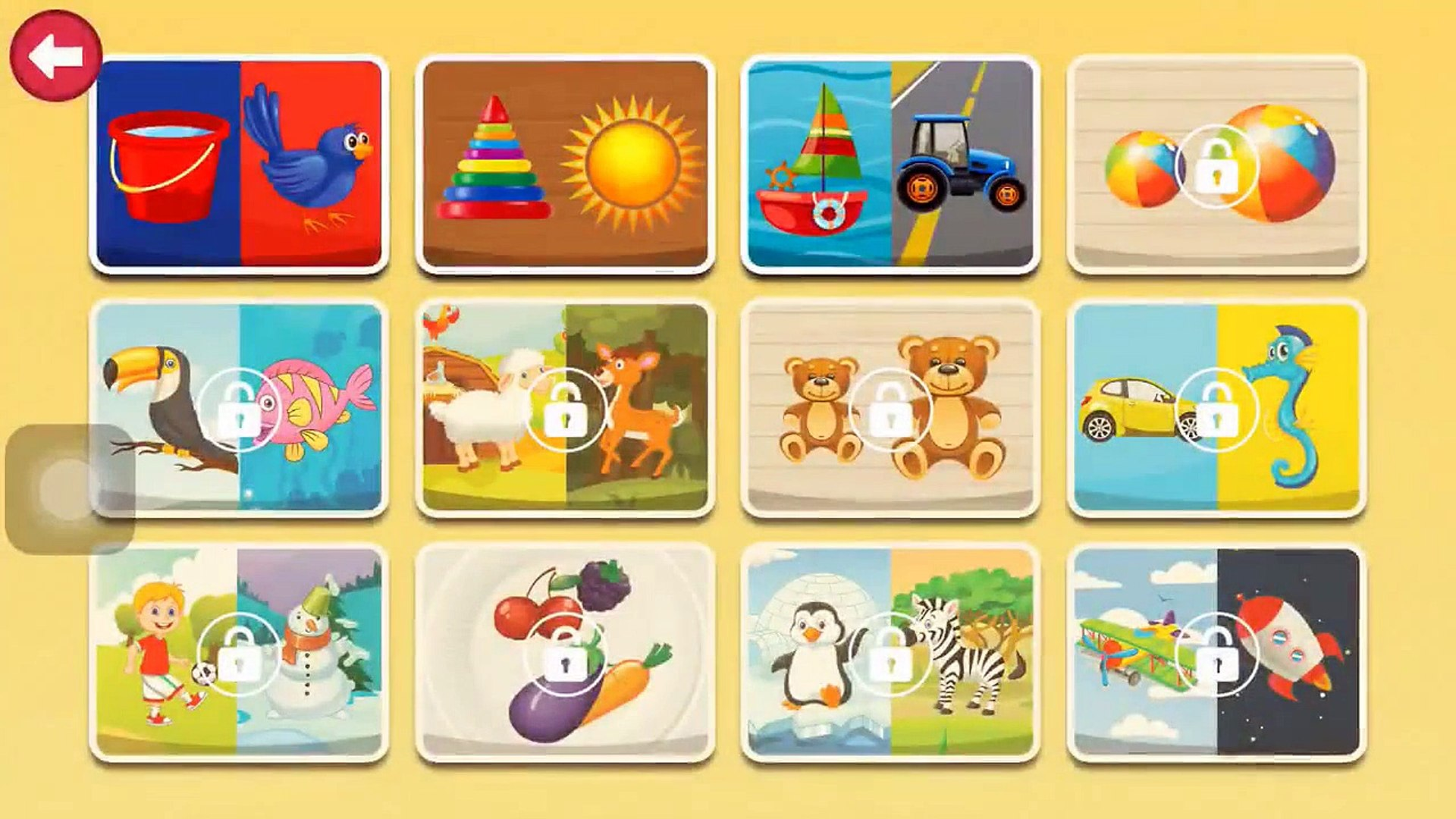 Shapes and Colors Sorting Game   Free Kids Learning Colors Games   Education Games for Kid