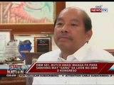 SONA: Ilang opisyal na DBM, pinagpapaliwanag ng NBI ukol sa isyu ng mga pekeng SARO