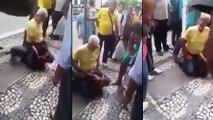 Un jeune à tenter de voler un maître de Jiu-jitsu brésilien